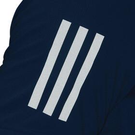 adidas Own The Run T-paita Miehet, shock cyan/reflective silver